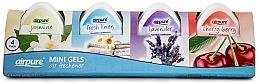 Voňavky, Parfémy, kozmetika Sada - Airpure 4 Pack Mini Gels (4xgel/60g)