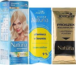 Voňavky, Parfémy, kozmetika Rozjasňovač pre celú dĺžku vlasov - Joanna Hair Naturia Blond