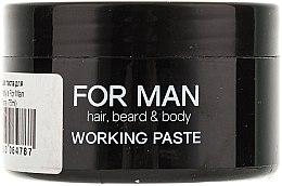 Matná vlasová pasta - Vitality's For Man Working Paste — Obrázky N2