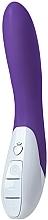 Voňavky, Parfémy, kozmetika Silikónový vibrátor, fialový - Mystim Elegant Eric Deep Purple