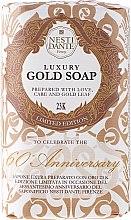 "Voňavky, Parfémy, kozmetika Mydlo ""Zlatý"" - Nesti Dante Gold Soap"