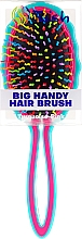 Kefa na vlasy, tyrkysovo ružová - Twish Big Handy Hair Brush Turquoise-Pink — Obrázky N2