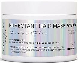 Voňavky, Parfémy, kozmetika Hydratačná maska na vlasy s akoukoľvek pórovitosťou - Trust My Sister Humectant Hair Mask