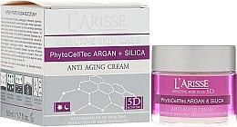Voňavky, Parfémy, kozmetika Krém proti vráskam s arganovými kmeňovými bunkami a silikónom 70+ - Ava Laboratorium L'Arisse 5D Anti-Wrinkle Cream Stem Cells & Silica