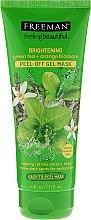 """Voňavky, Parfémy, kozmetika Maska-fólia na tvár """"Rozjasňujúci Zelený čaj a pomarančový kvet"""" - Freeman Feeling Beautiful Brightening Green Tea+Ornge Blossom Peel-Off Gel Mask"""