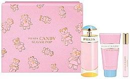 Voňavky, Parfémy, kozmetika Prada Candy Sugar Pop - Sada (edp 80 ml + edp 10 ml + b/lot 75 ml)