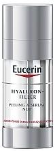 Voňavky, Parfémy, kozmetika Nočné exfoliačné sérum - Eucerin Hyaluron-Filler Peeling & Serum Night