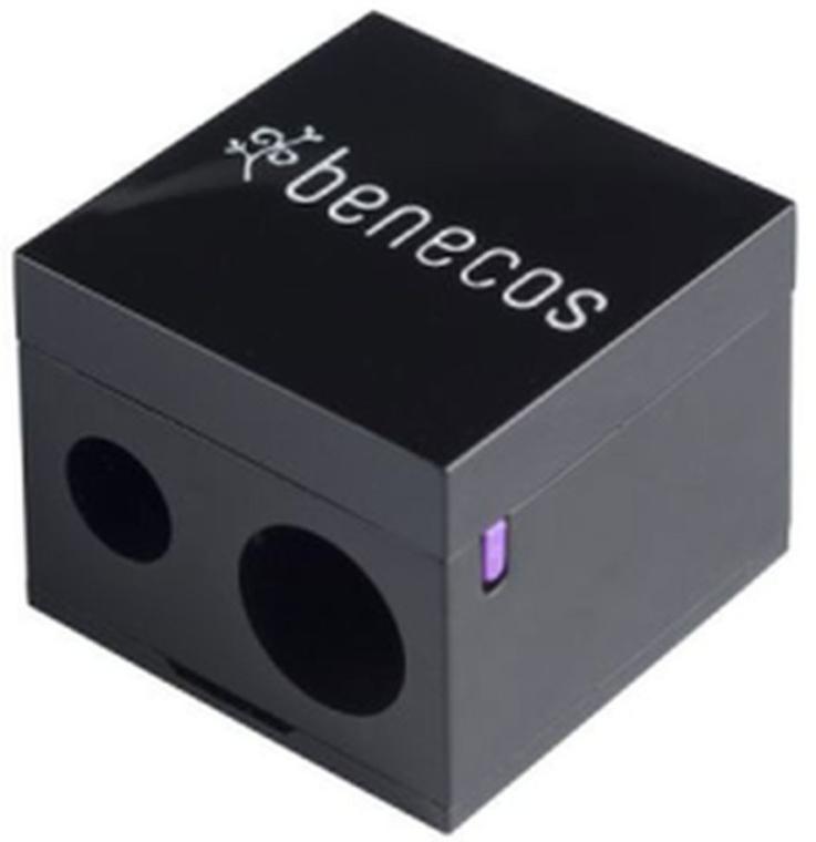 Dvojitý orezávač - Benecos Cosmetic Pencil Sharpener — Obrázky N1