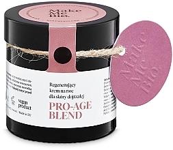 Voňavky, Parfémy, kozmetika Omladzujúci nočný krém pre zrelú pleť - Make Me BIO Anti-Aging Night