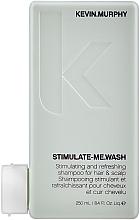 Voňavky, Parfémy, kozmetika Osviežujúci šampón pre mužov - Kevin.Murphy Stimulate-Me Wash