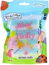 """Voňavky, Parfémy, kozmetika Hubka do kúpeľa """"Peppa Pig"""", princezná Holly, svetlomodrá - Suavipiel Bath Sponge"""