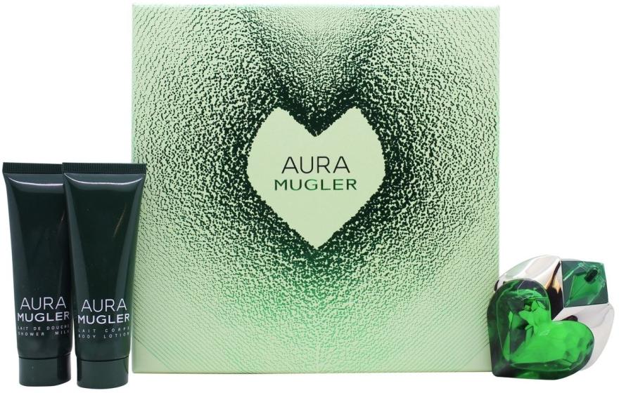 Mugler Aura Mugler - Sada (edp/30ml + b/lot/50ml + sh/gel/50ml)
