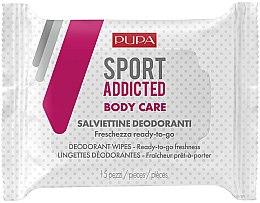 Voňavky, Parfémy, kozmetika Vlhčené utierky na telo - Pupa Sport Addicted Wipers