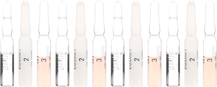 Flash ampulky pre žiarivosť pokožky - Natura Bisse Diamond Instant Glow Express Mini-Lift — Obrázky N2