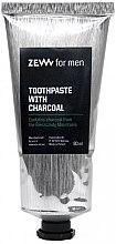 Voňavky, Parfémy, kozmetika Zubná pasta s uhlím - Zew For Men Toothpaste With Charcoal