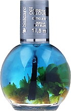 Voňavky, Parfémy, kozmetika Olej na nechty a kutikulu s kvetmi - Silcare The Garden Of Colour Vanilla Sky Blue