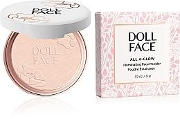 Voňavky, Parfémy, kozmetika Žiariaci púder - Doll Face All A Glow Illuminating Powder