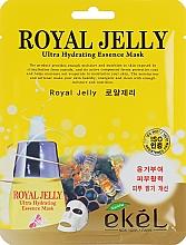 Voňavky, Parfémy, kozmetika Výživná textilná maska s včelou materskou kašičkou - Ekel Royal Jelly Hydrating Essence Mask