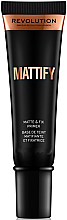 Voňavky, Parfémy, kozmetika Primér na tvár, matujúcim - Makeup Revolution Mattify Primer