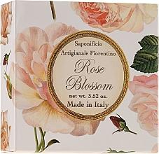 """Voňavky, Parfémy, kozmetika Prírodné mydlo """"Ruža"""" - Saponificio Artigianale Fiorentino Rose Blossom Soap"""