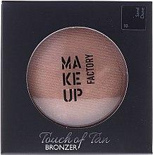 Voňavky, Parfémy, kozmetika Bronzer na tvár - Make up Factory Touch Of Tan Bronzer