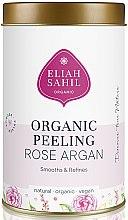 Voňavky, Parfémy, kozmetika Organický scrub na telo - Eliah Sahil Organic Peeling Rose Argan