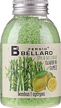 """Voňavky, Parfémy, kozmetika Zjemňujúce guľôčky do kúpeľa """"Bambus a citrón"""" - Fergio Bellaro Bamboo and Lemon Bath Caviar"""