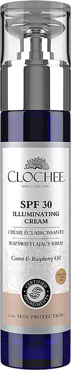 Rozjasňujúci krém na tvár - Clochee Illuminating Cream SPF30