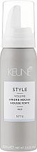 Voňavky, Parfémy, kozmetika Pena extrafixácia č. 74 - Keune Style Strong Mousse Travel Size