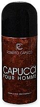 Voňavky, Parfémy, kozmetika Roberto Capucci Capucci Pour Homme - Dezodoračný sprej