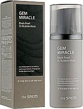 Voňavky, Parfémy, kozmetika Kyslíková maska s čiernymi perlami - The Saem Gem Miracle Black Pearl O2 Bubble Mask