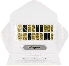 Voňavky, Parfémy, kozmetika Manikúra samolepky - Yves Saint Laurent Couture Metal Manicure Jewel Nail Stickers Grunge Sequins