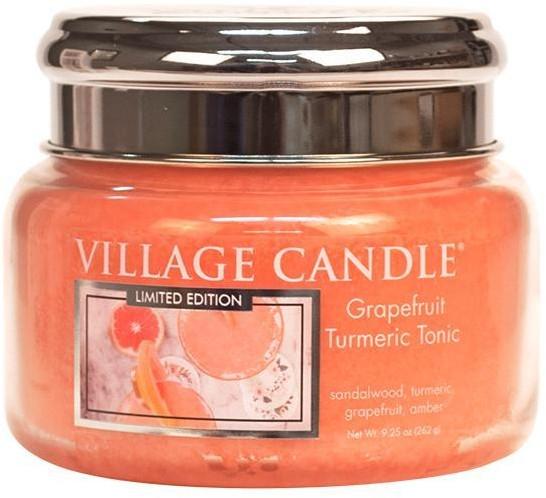 Vonná sviečka v nádobe - Village Candle Grapefruit Turmeric Tonic Glass Jar — Obrázky N1