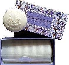 """Voňavky, Parfémy, kozmetika Sada toaletného mydla """"Toskánska levanduľa"""" - Saponificio Artigianale Fiorentino Lavender Toscana (Soap/6x50g)"""