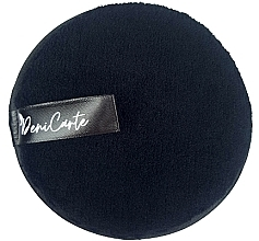 Voňavky, Parfémy, kozmetika Čistiaca špongia, čierna - Deni Carte Face Wash Microfiber Black