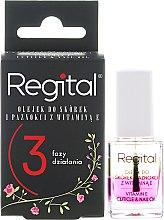 Voňavky, Parfémy, kozmetika Trojfázový olej na nechty a kožičku - Regital Three-phase Cuticle And Nail Oil