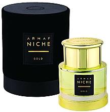 Voňavky, Parfémy, kozmetika Armaf Niche Gold - Parfumovaná voda