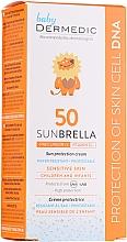 Voňavky, Parfémy, kozmetika Opaľovací krém pre deti - Dermedic Sunbrella Baby Sun Protection Cream SPF 50+