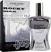 Voňavky, Parfémy, kozmetika Jeanne Arthes Rocky Man Irridium - Toaletná voda