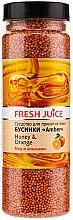 Voňavky, Parfémy, kozmetika Kúpeľové perličky - Fresh Juice Bath Bijou Amber Honey and Orange
