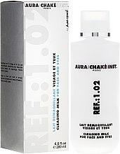 Voňavky, Parfémy, kozmetika Čistiace mlieko na tvár a oči - Aura Chake Cleansing Milk Face & Eyes