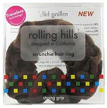 Voňavky, Parfémy, kozmetika Gumička do vlasov, hnedá - Rolling Hills Scrunchie Hair Rings Brown