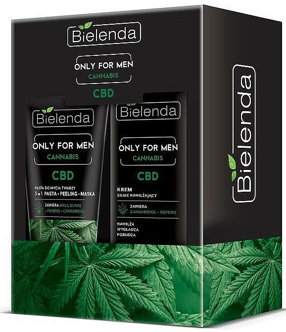 Sada - Bielenda Only For Men Cannabis (cr/50ml + paste/150g)