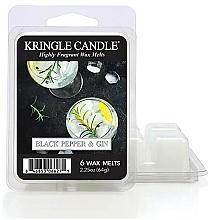 Voňavky, Parfémy, kozmetika Aromatický vosk - Kringle Candle Wax Melt Black Pepper Gin
