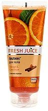 """Voňavky, Parfémy, kozmetika Telový peeling """"Pomaranč a škorica"""" - Fresh Juice Orange & Cinnamon"""
