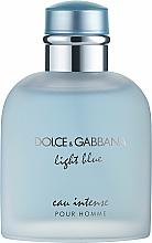 Voňavky, Parfémy, kozmetika Dolce & Gabbana Light Blue Eau Intense Pour Homme - Parfumovaná voda