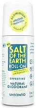 Voňavky, Parfémy, kozmetika Deodorant valčekový - Salt of the Earth Effective Unsented Roll-On Deo