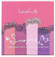 Voňavky, Parfémy, kozmetika Paleta tieňov - Lovely Surprise Me Eyeshadow Palette Violet Field Edition