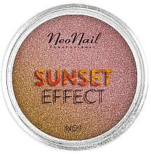 "Voňavky, Parfémy, kozmetika Glitter na nechty ""Západ slnka"" - NeoNail Professional Sunset Effect"