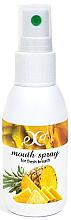 """Voňavky, Parfémy, kozmetika Sprej pre ústnu dutinu """"Ananás"""" - Hristina Cosmetics Pineapple Mouth Spray"""